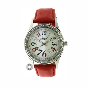 ANGEL color dials red leather