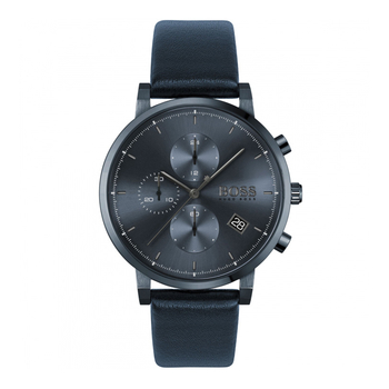 BOSS Black blue dial & blue strap