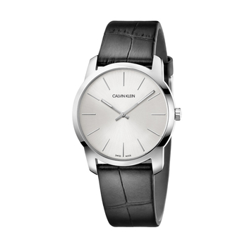 Calvin Klein City grey dial & black strap