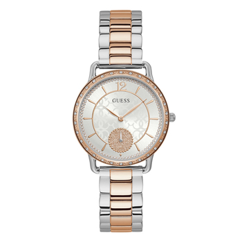 GUESS grey dial rose steel bracelet W1290L2